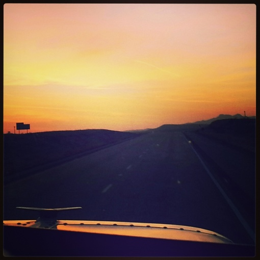 Texas Sunrise in 'the middle of nowhere TX'